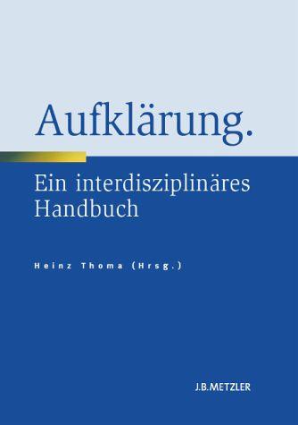 Handbuch Europäische Aufklärung